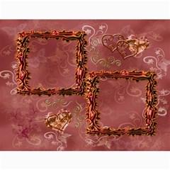 Frill Frame Calendar 2015 By Ellan   Wall Calendar 11  X 8 5  (12 Months)   88ov6muibdw7   Www Artscow Com Month