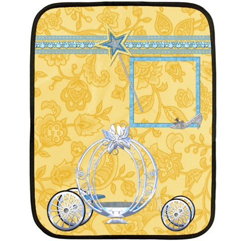Blanket Ella In Blue Small 1001 By Lisa Minor   Fleece Blanket (mini)   Si4y5p1ruai7   Www Artscow Com 35 x27 Blanket