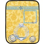 Blanket-Ella in Blue-small-1001 - Fleece Blanket (Mini)