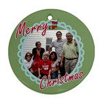 xmas ornaments - Ornament (Round)