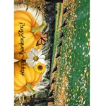 Happy Thanksgiving! 5x7 card - Greeting Card 5  x 7