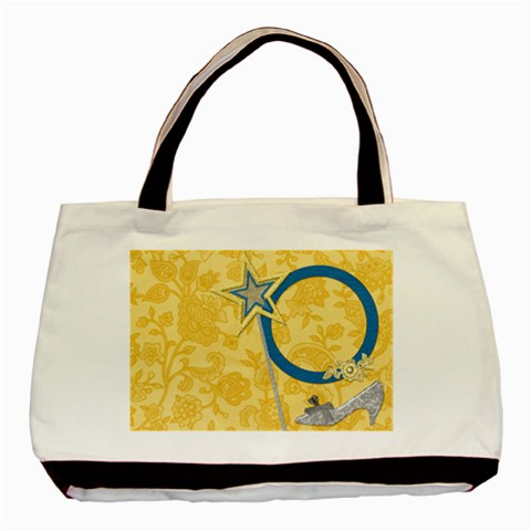 Tote Ella In Blue 1001 By Lisa Minor   Basic Tote Bag   Vxp22101twc5   Www Artscow Com Front