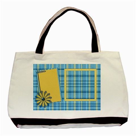 Tote Ella In Blue 1002 By Lisa Minor   Basic Tote Bag   Cjqb7ssjspbd   Www Artscow Com Front