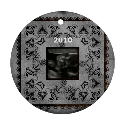 Ryley s Ornament By Michelle Long   Ornament (round)   V7fq28z6rdv8   Www Artscow Com Front