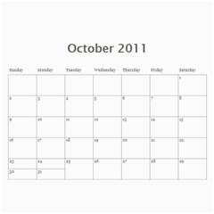 Kalendar 2011 By Vladislav Petrov   Wall Calendar 11  X 8 5  (12 Months)   Awnvcrmig3y9   Www Artscow Com Oct 2011