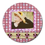 day dreamer round mouse pad - Round Mousepad