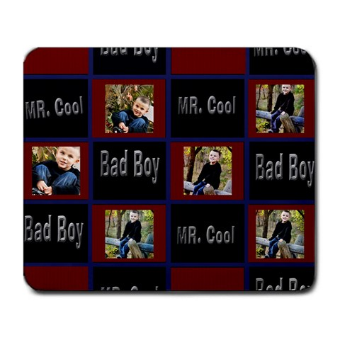 Bad Boy  Mr Cool Mouse Pad By Danielle Christiansen   Large Mousepad   0aipsbg2huqn   Www Artscow Com Front