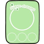 sweet dreams blanket 03 - Fleece Blanket (Mini)