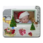 Here Comes Santa Mouse Pad - Large Mousepad