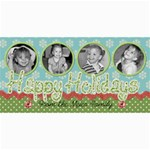 Happy Holidays 6 - 4  x 8  Photo Cards