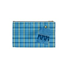 Cosmetic Bag Ella In Blue Small 1001 By Lisa Minor   Cosmetic Bag (small)   Jfypy7pcu7ii   Www Artscow Com Back