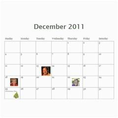 Mom Calander By Amanda   Wall Calendar 11  X 8 5  (18 Months)   M8ya1ndpjvej   Www Artscow Com Dec 2011