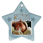 A Star is Born Baby Boy Ornament - Ornament (Star)