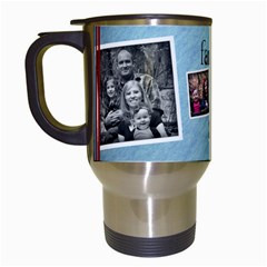 Family Mug By Amanda Bunn   Travel Mug (white)   0uh8xn9sdo2h   Www Artscow Com Left