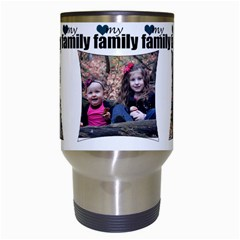 4 Photo My Family Mug By Amanda Bunn   Travel Mug (white)   Hiank3l3v7r8   Www Artscow Com Center