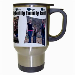 4 Photo My Family Mug By Amanda Bunn   Travel Mug (white)   Hiank3l3v7r8   Www Artscow Com Right