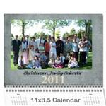 2011 Calendar - Wall Calendar 11  x 8.5  (12-Months)