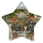 My boys ornanment - Star Ornament (Two Sides)