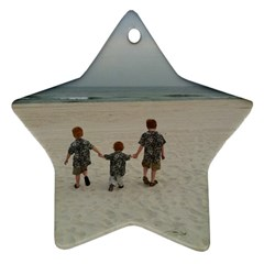 My Boys Ornanment By Cindy Blair Speigle   Star Ornament (two Sides)   83n18z0zta1d   Www Artscow Com Back