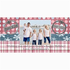 Winter Holiday Card By Danielle Christiansen   4  X 8  Photo Cards   P8yj6qgdfsoo   Www Artscow Com 8 x4 Photo Card - 1