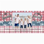 winter holiday card - 4  x 8  Photo Cards