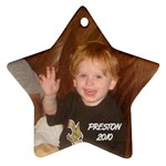 Preston ornament 2 - Ornament (Star)