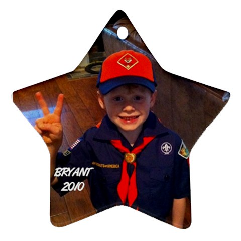 Bryant Ornament 2 By Cindy Blair Speigle   Ornament (star)   3k7m8ftklw6e   Www Artscow Com Front