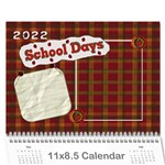 2015 calender for school teachers - Wall Calendar 11  x 8.5  (12-Months)