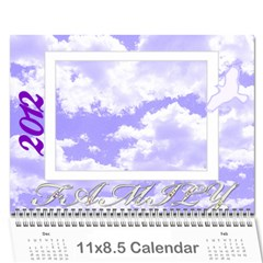 2012 Family Quotes Calendar By Galya   Wall Calendar 11  X 8 5  (12 Months)   Bbjtbi0oegh9   Www Artscow Com Cover