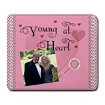 Young At Heart Large Mousepad