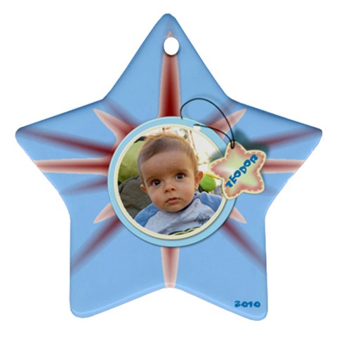 Star Ornament   2010  By Daniela   Ornament (star)   G2iu510shf1e   Www Artscow Com Front