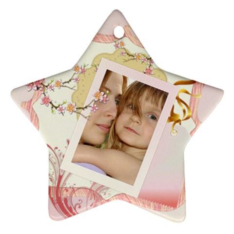 Kids By Wood Johnson   Ornament (star)   K3rjifviek99   Www Artscow Com Front