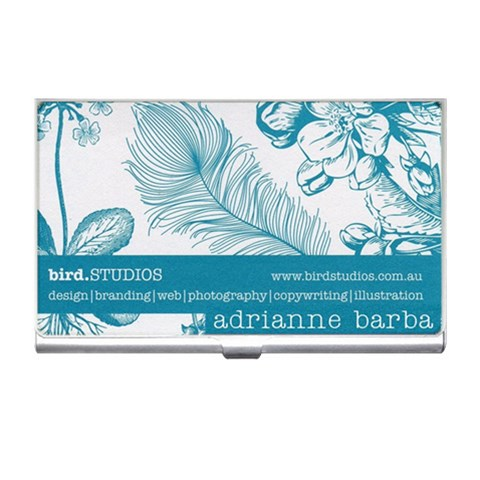 Dana 1 By Charmaine Baker   Business Card Holder   9num4cn01w3x   Www Artscow Com Front