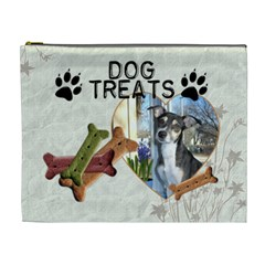 Dog Treat Bag (xl Cosmetic Bag) By Lil    Cosmetic Bag (xl)   85ik4n80nad0   Www Artscow Com Front