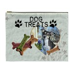 Dog Treat Bag (XL Cosmetic Bag) - Cosmetic Bag (XL)