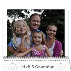 Meg 2011 By Melanie Guest   Wall Calendar 11  X 8 5  (12 Months)   Wly6eytod91g   Www Artscow Com Cover