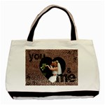 you & me forever leopard print tote bag - Classic Tote Bag (Two Sides)