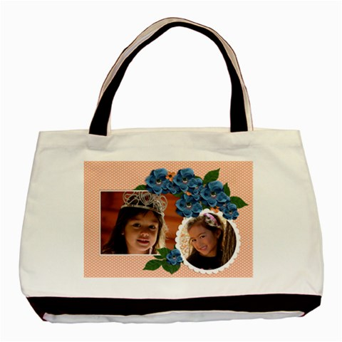 Tote Bag  Bunch Of Flowers By Jennyl   Basic Tote Bag   5wvdtwvnfbu8   Www Artscow Com Front
