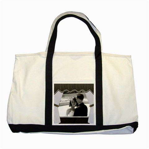 Stage Curtain Two Toned Tote Bag by Lil Front