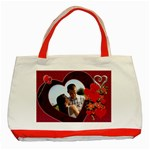 Hearts Galore Classic Red Tote Bag - Classic Tote Bag (Red)