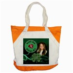 Irish Green Accent Tote Bag