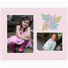 Calendar  Sweet Bianca By Jennyl   Wall Calendar 11  X 8 5  (12 Months)   Rsna831gm8ws   Www Artscow Com Month