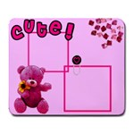 Cute girl - MOUSEPAD - Large Mousepad