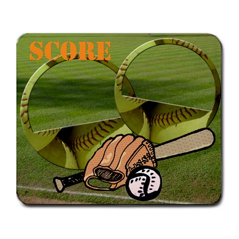 Score     Mousepad By Carmensita   Large Mousepad   P4xyg441y3fw   Www Artscow Com Front
