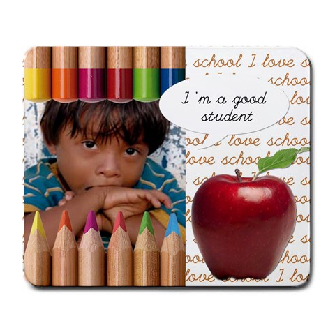 I m A Good Student   Mousepad By Carmensita   Large Mousepad   Nyb61k0uz9gn   Www Artscow Com Front