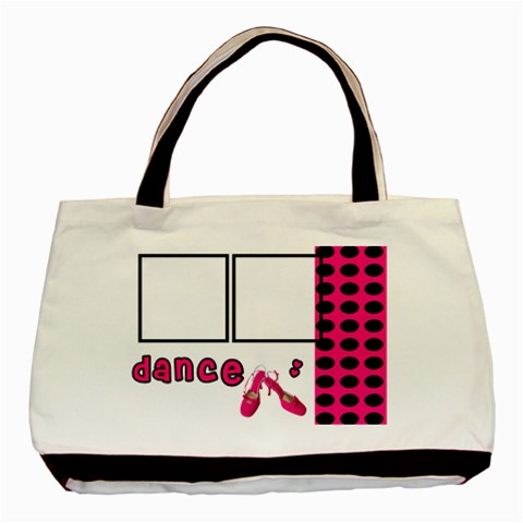 Dance   Tote Bag By Carmensita   Basic Tote Bag   Fitajnaiistd   Www Artscow Com Front