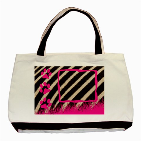 Zebra   Tote Bag By Carmensita   Basic Tote Bag   Bi5uvon5i66z   Www Artscow Com Front