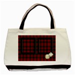 RED TARTAN - TOTE BAG - Basic Tote Bag