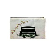 Small Cosmetic Bag Botanical Wonderland 1001 By Lisa Minor   Cosmetic Bag (small)   Phpdpegis6ny   Www Artscow Com Back