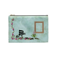 Cosmetic Bag Medium Botanical Wonderland 1001 By Lisa Minor   Cosmetic Bag (medium)   853o3iunr4xd   Www Artscow Com Front
